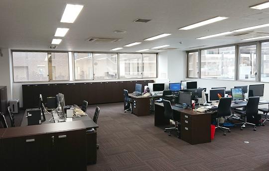 C&C株式会社のオフィス風景