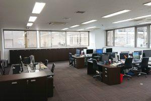 C&C株式会社のオフィス内